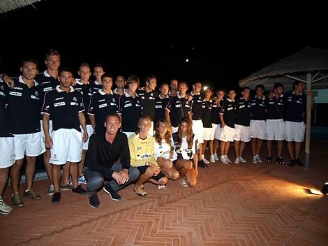 Esperia viareggio calcio presenta la prima squadra al - Bagno arizona viareggio ...