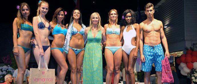 A lido via all 39 estate 2012 con la sfilata firmata yamamay news viareggino - Bagno venezia lido di camaiore ...