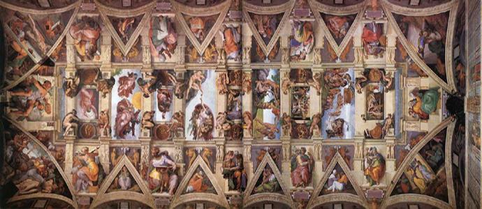 La cappella sistina compie 500 anni iniziative a for Decorazione quattrocentesca della cappella sistina