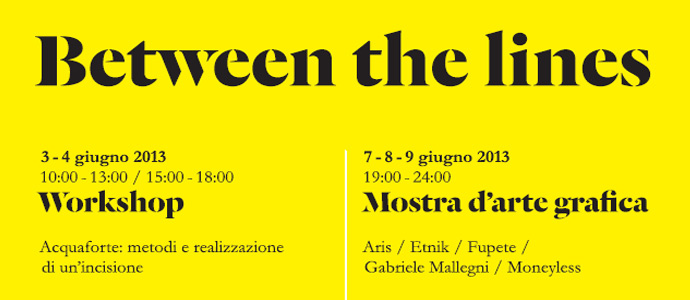 Beetween the lines: un workshop oltre la mostra