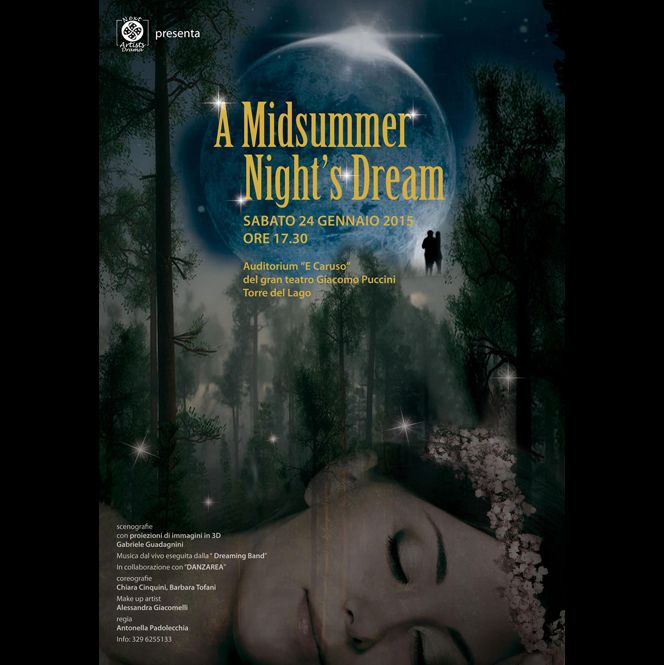 """Midsummer night's dream"" all'auditorium Enrico Caruso di Torre del Lago"