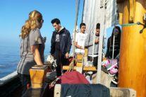 Gli studenti del Nautico al raduno delle Navi storiche