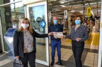 Coronavirus, Pacchi alimentari grazie alla donazione del Rotary Club Viareggio Versilia