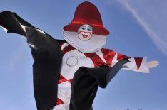 BURLAMACCO E ONDINA  alla BIT per promuovere il Carnevale di Viareggio