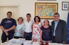 UNA DELEGAZIONE DI ARTISTI PROVENIENTI DA TEIA' IN VISITA A MASSAROSA