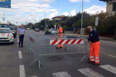 Lavori: voragine sull'asfalto in viale Roma, subito intervento di ripristino d'urgenza