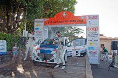 Senigagliesi e Morganti di nuovo con la Peugeot 208 T16 delle Maranello corse al Trofeo Maremmain cerca di successo.