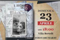 """A Villa Bertelli, presentazione del romanzo """"Il destino del 6"""" di Susanna Benassi e Claudio Lucetti."""