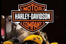 Al Caffè Meschi il raduno delle Harley Davidson