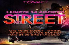 """Lunedì 14 agosto spettacolo, a cura di Viva, """"StreetArt"""""""