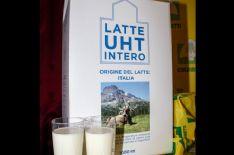Latte e prodotti lattiero caseari con etichetta made in Italy