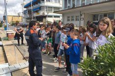 Grande successo del progetto alternanza scuola - lavoro in Capitaneria