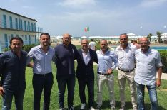 Arrivano dal Livorno insieme a Nicola Pecini. Come ds c'è sempre Alberto Reccolani