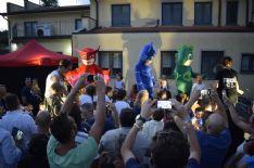 Delirio per i SuperPigiamini a Camaiore . Domenica di festa alla Pasticceria Da Rossano