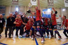 Un'invenzione di Martì Casas regala il tricolore ai rossoblù battendo 2-1 al PalaForte il Cgc Viareggio in gara-5 di finale