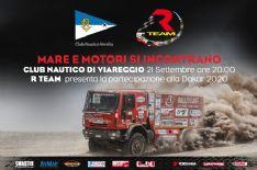 R TEAM alla DAKAR 2020: la presentazione al Club Nautico Versilia