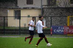 Nella foto (di Aldo Umicini) i migliori in campo del Camaiore a Castelfiorentino: Contipelli e Ceciarini