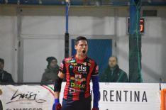 """Al """"Capannino"""" si esaltano Ambrosio (con 4 gol per i versiliesi) e Montigel (l'ex Cgc fa doppietta per i maremmani)"""