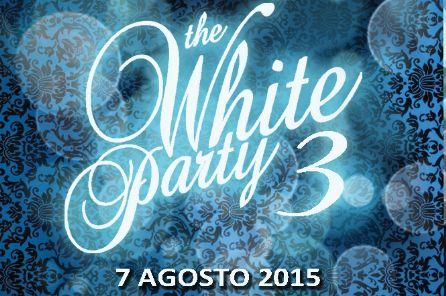 Venerdì 7 agosto torna The White Party 3 in centro città a Viareggio