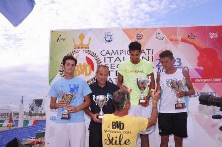I migliori giocatori d'Italia di seconda e terza categoria si danno battaglia al Bagno Andrea Doria di Torre del Lago