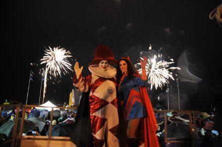 Carnevale 2016 gran finale con i fuochi d'artificio. 118mila euro l'inbcasso LE FOTO!