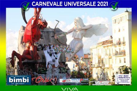 Le Opere allegoriche di prima categoria del Carnevale di Viareggio 2021