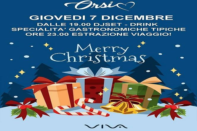 Merry Christmas con Viva al Bar Orsi