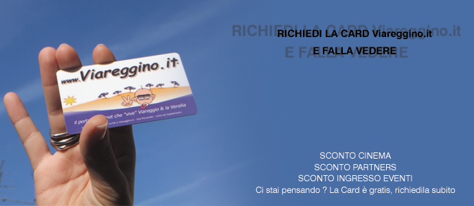 Card Viareggino.it